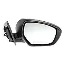 Mirror - Passenger Side, Power, Heated, Paintable, With In-Housing Turn Signal, Flat Glass
