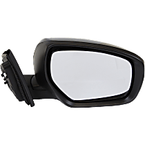 Mirror - Passenger Side, Power, Heated, Paintable, With In-Housing Turn Signal, Convex Glass