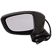 Mirror - Driver Side, Power, Paintable, With Turn Signal and Blind Spot Function, For Japan or Mexico Built Models
