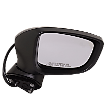 Mirror - Passenger Side, Power, Paintable, With Turn Signal and Blind Spot Function, For Japan or Mexico Built Models