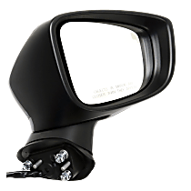 Mirror - Passenger Side, Power, Heated, Paintable, With Turn Signal and Blind Spot Function, For Japan or Mexico Built Models