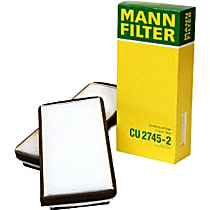 CU2745-2 Cabin Air Filter