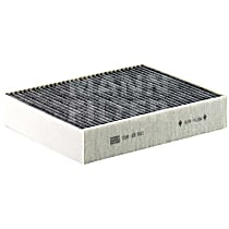 CUK 25 001 Cabin Air Filter (Activated Charcoal) - Replaces OE Number 64-11-9-237-555