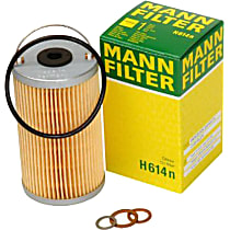 H614N Oil Filter - Cartridge, Direct Fit, Sold individually