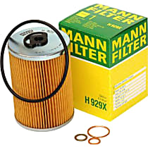 H929X Oil Filter - Cartridge, Direct Fit, Sold individually