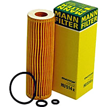 Mann-Filter HU514X Oil Filter - Cartridge, Direct Fit, Sold individually