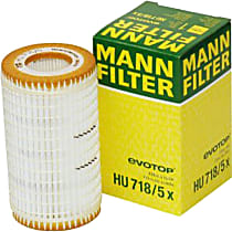 HU 718/5 x Oil Filter - Cartridge, Direct Fit, Sold individually