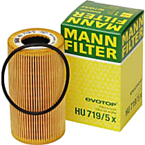 HU719/5X Oil Filter - Cartridge, Direct Fit, Sold individually