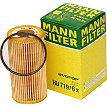 HU 719/6 x Oil Filter - Cartridge, Direct Fit, Sold individually