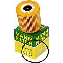 Mann-Filter HU 819 x Oil Filter - Cartridge, Direct Fit, Sold individually