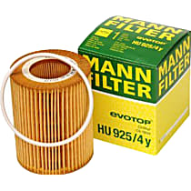 HU925/4Y Oil Filter - Cartridge, Direct Fit, Sold individually