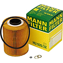 HU926/3X Oil Filter - Cartridge, Direct Fit, Sold individually
