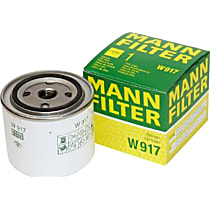Mann-Filter W917 Oil Filter - Canister, Direct Fit, Sold individually