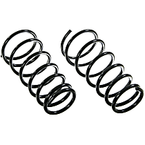 Lesjofors Pair Set of 2 Rear Coil Springs For Jeep Grand Cherokee 1999-2004