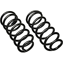 Rear Coil Springs, Set of 2