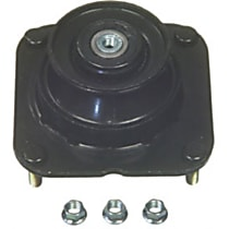 K160049 Strut Mount Bushing - Black, Steel and rubber, Direct Fit, Sold individually