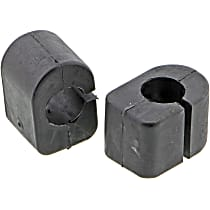 MK5227 Sway Bar Bushing - Thermoplastic, Non-greasable, Direct Fit, Set of 2