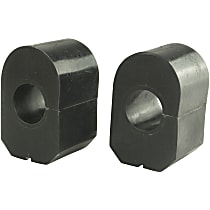 MK5241 Sway Bar Bushing - Rubber, Non-greasable, Direct Fit, Set of 2