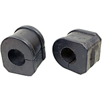 MK5288 Sway Bar Bushing - Rubber, Non-greasable, Direct Fit, Set of 2
