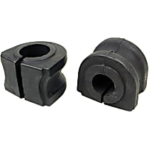 MK6397 Sway Bar Bushing - Rubber, Non-greasable, Direct Fit, Set of 2