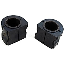 MK6401 Sway Bar Bushing - Rubber, Non-greasable, Direct Fit, Set of 2
