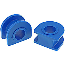 Sway Bar Bushing - Thermoplastic, Non-greasable, Direct Fit, Set of 2 Front To Frame