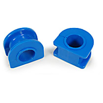 Sway Bar Bushing - Rubber, Non-greasable, Direct Fit, Set of 2 Front To Frame