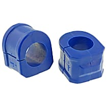 MK6455 Sway Bar Bushing - Rubber, Non-greasable, Direct Fit, Set of 2