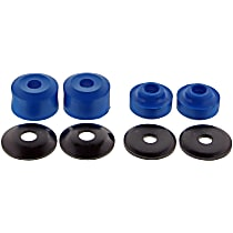 MK6484 Strut Rod Bushing - Blue, Rubber, Direct Fit, 2-arm set