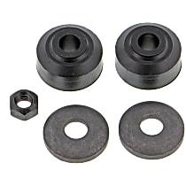 MK7081 Sway Bar Link Bushing - Black, Rubber, Direct Fit, 1-end-link set