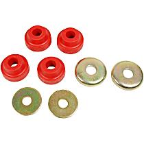 MK7083 Strut Rod Bushing - Red, Rubber, Direct Fit, 2-arm set
