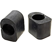 Mevotech MK7096 Sway Bar Bushing - Rubber, Non-greasable, Direct Fit, Set of 2