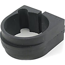 Mevotech MK7110 Steering Rack Bushing - Black, Rubber, Direct Fit, Sold individually Front