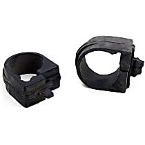 MK7113 Steering Rack Bushing - Black, Rubber, Direct Fit, Set of 2