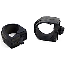 Mevotech MK7113 Steering Rack Bushing - Black, Rubber, Direct Fit, Set of 2