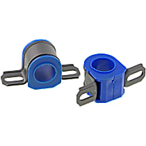 MK7326 Sway Bar Bushing - Thermoplastic, Non-greasable, Direct Fit, Set of 2