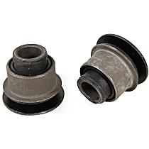 MK7387 Steering Rack Bushing - Black, Rubber, Direct Fit, Set of 2