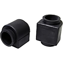 MK80774 Sway Bar Bushing - Black, Rubber, Non-greasable, Direct Fit, Set of 2