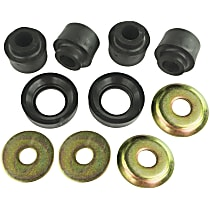 MK8268 Radius Arm Bushing - Black, Thermoplastic, Direct Fit, Set of 2
