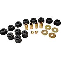 MK8657 Sway Bar Link Bushing - Black, Rubber, Direct Fit, 2-end-link set