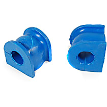 Sway Bar Bushing - Thermoplastic, Non-greasable, Direct Fit, Set of 2