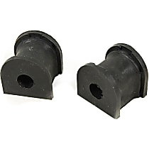 MK90627 Sway Bar Bushing - Rubber, Non-greasable, Direct Fit, Set of 2