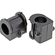 MK9988 Sway Bar Bushing - Rubber, Non-greasable, Direct Fit, Set of 2