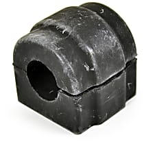 Sway Bar Bushing - Rubber, Non-greasable, Direct Fit, Sold individually
