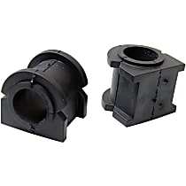 Mevotech MS258103 Sway Bar Bushing - Black, Rubber, Non-greasable, Direct Fit, Set of 2