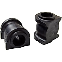 MS258107 Sway Bar Bushing - Black, Rubber, Non-greasable, Direct Fit, Set of 2