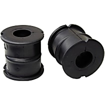 Mevotech MS25842 Sway Bar Bushing - Black, Rubber, Non-greasable, Direct Fit, Set of 2