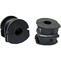 MS308130 Sway Bar Bushing - Black, Rubber, Non-greasable, Direct Fit, Set of 2