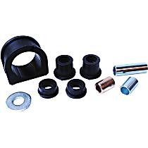 MS86303 Steering Rack Bushing - Black, Rubber, Direct Fit, Set of 3