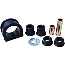Mevotech MS86304 Steering Rack Bushing - Black, Rubber, Direct Fit, Set of 3